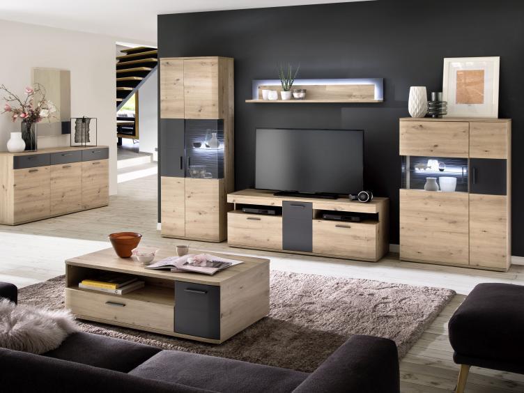 Wohnwand Cortona von MCA Furniture